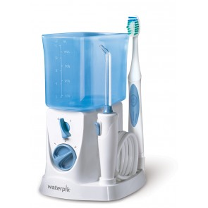 Irrigador Compacto Waterpik 2 en 1 WP-700 – Cepillo NanoSonic + Irrigador