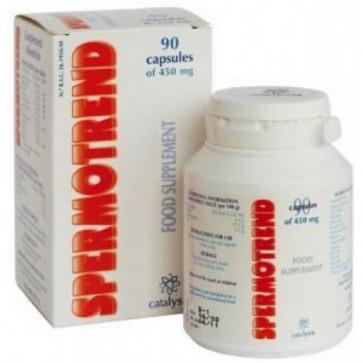 Spermotrend 90 Cápsulas de 450 mg de Catalysis - Complemento Alimenticio para la Fertilidad Masculina