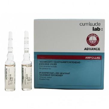 Advance Ampollas Anticaída Mujer Cumlaude 15 u - Tratamiento Intensivo Anticaída, Antioxidante y Regenerador Celular