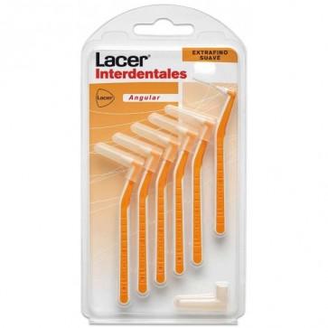 Cepillo Lacer Interdental Extrafino Suave Angular 6 uds - Alcance maximo