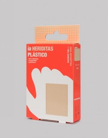 Heriditas 1 Apósito de 100 x 6 cm Clásico de Plástico - Completamente Hipoalergénico y Transpirable