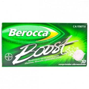 Berocca Boost 30 Comp Efervescente - Rendimiento Intelectual, Energía