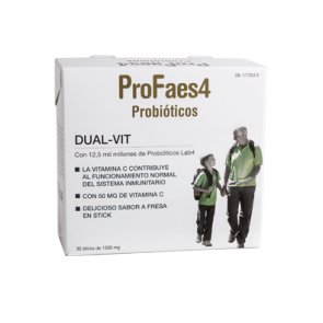 Profaes4 Dual Vit 30 Sticks - Ayuda al Sistema Inmunitario Intestinal