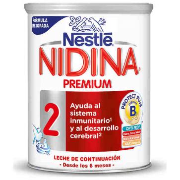 Nestlé Nidina 2 Premium 800 gr - Leche de continuación