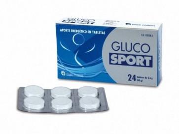 Glucosport 24 Tabletas 2,5 Gr - Energizante, Retrasa Fatiga Muscular