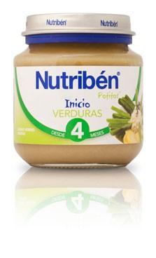 Nutribén Inicio A La Verdura 130 gr