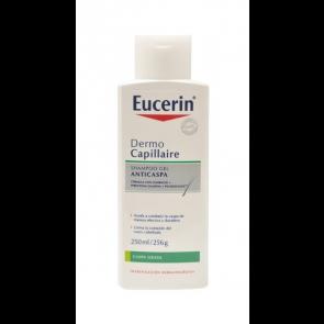 Eucerin Dermocapillaire Champú Anticaspa 250 ml - Caspa, Picor, Irritaciones