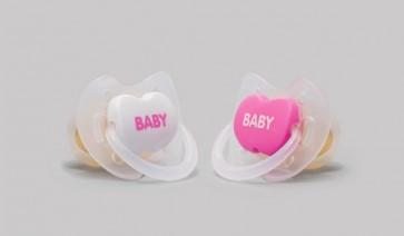Chupete Anatómico Rosa 2 Uds +6 Meses Tetina de Látex de Interapothek - Perfecta adaptación a la Cara del Bebé