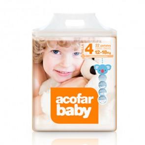 Comprar Acofarbaby Pañal Infantil T4 22 Pañales