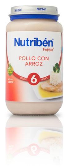 Nutribén Potito Grandote de Pollo Con Arroz 250 gr