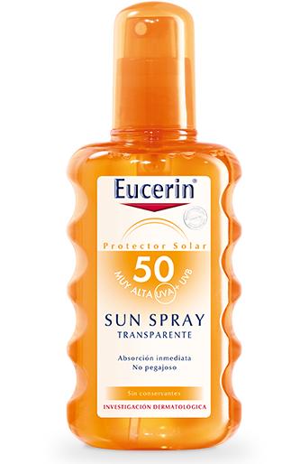 Eucerin Sun Spray Transparente FPS 50 200 ml - Protección Solar