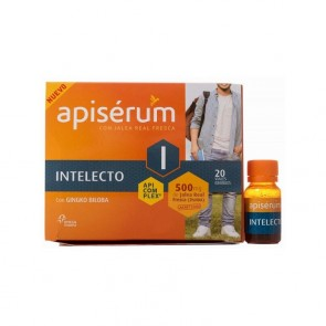 Apiserum Intelecto 20 Viales Bebibles 500 mg