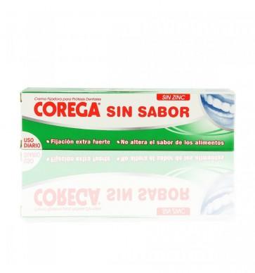 Corega Crema Fijadora Extra Fuerte Sin Sabor  40 ml - Protesis Dentales