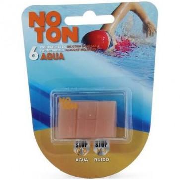 Tapones Oído Noton Silicona 3 Pares - Protege el Oído Evitando que Entre Agua