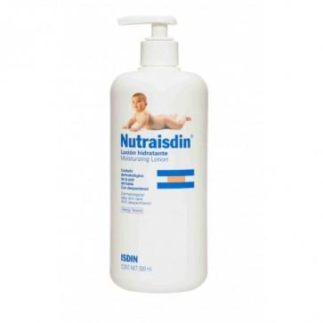 Nutraisdin Loción Hidratante Corporal 500 ML - Hidratación y Protección de la Piel del Bebé