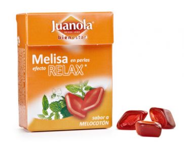 Juanola Perlas Bienestar Melisa Efecto Relax Melocotón