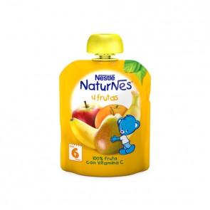 Nestlé Naturnes Pouches 4 Frutas 90 Gr