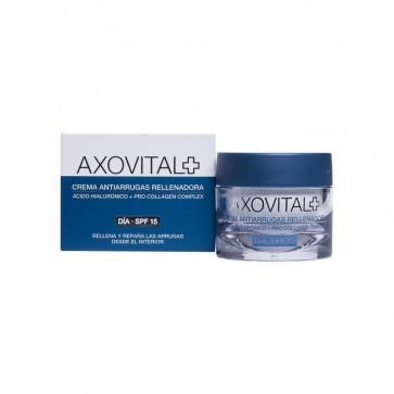 Axovital Crema Antiarrugas Día SPF 15 50 ML - Rellena las Arrugas y Reafirma la Piel