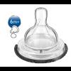 Avent Tetina Classic+ Liquidos Espesos 2 Ud - Alimentación del Bebé a Partir de 6 Meses