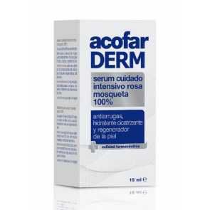 Acofarderm Serum Cuidado Intensivo Rosa Mosqueta 100% 15ml - Antiarrugas, Hidratante