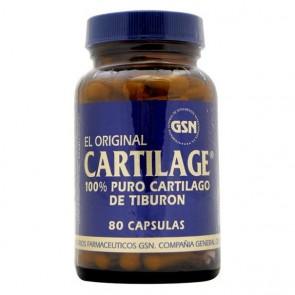 Cartílago de Tiburón 740 mg 80 Cáps GSN