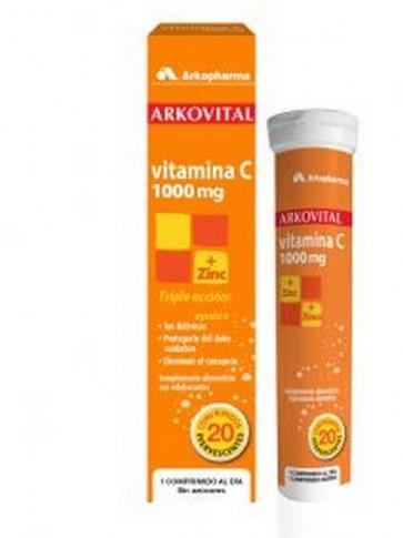 Arkovital Vitamina C 1000 mg - Polivitamínico y Minerales Adultos