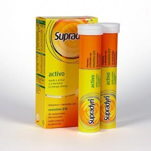 Supradyn Activo 30 Comprimidos con Coencima q10 - Polivitamínico Activa tu Energía y Vitalidad