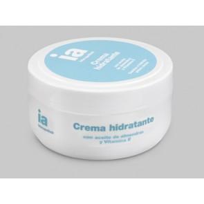 Crema Hidratante 200 ml de Interapothek con Aceite de Almendras y Vitamina E - Suaviza e Hidrata