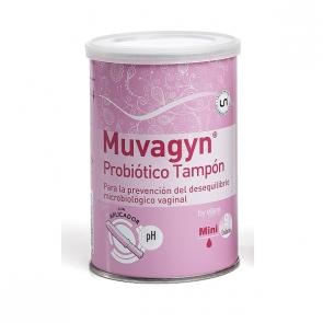 Muvagyn Probiótico Tampón Con Aplicador Mini 9 Ud