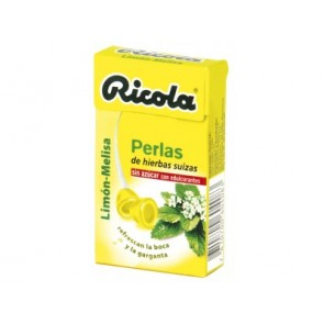 Ricola Perlas Sin Azúcar Limón 25 Gr