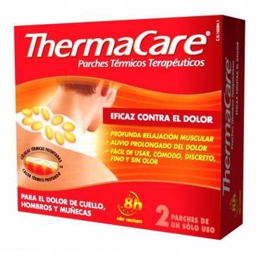 Thermacare Cuello Hombros Y Muñecas 2 Ud - Parches Térmicos Terapéuticos Contra el Dolor