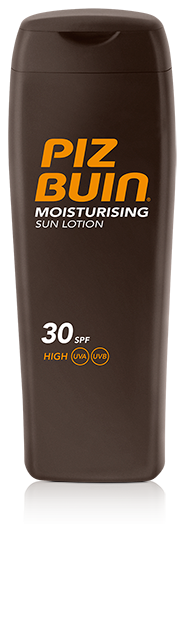Loción Corporal Piz Buin Protección Solar Hidratante Moisturising Factor SPF 30 - Hidrata y Protege la Piel