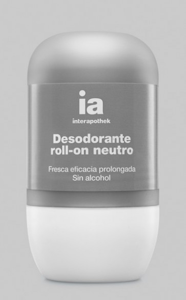 Desodorante Neutro Roll On 50 ml de Interapothek - Sin Alcohol