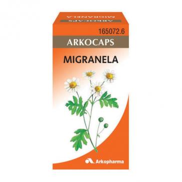 Arkocapsulas Migranela 48 cápsulas - Jaquecas, Migrañas, Cefaleas