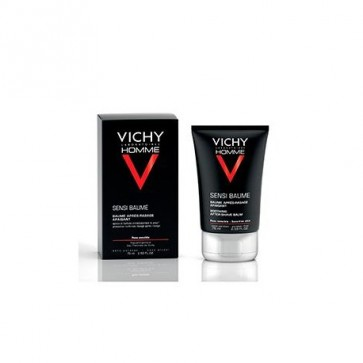 Vichy Homme Sensi-Baume After Shave 75 ml -  Bálsamo Calmante, Anti-reacciones, Pieles Sensibles