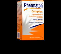 Pharmaton Complex 30 Caps - Recuperar Energía, Vitaminas y Minerales