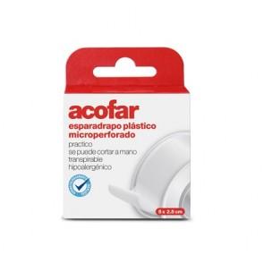 Acofar Esparadrapo Plástico Microperforado 5 x 2,5 cm