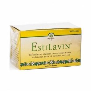 Aquilea ESTILAVIN Infusiones 20 Sobres - hinojo, fucus, abedul, cola de caballo, harpogofito, pasiflora