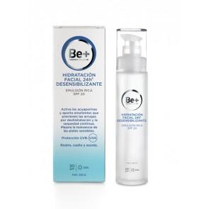 Be+ Emulsión 24h Desensibilizante Facial Piel Seca SPF20 50ml