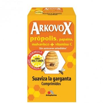 ArkovoxPrópolis + Vitamina C 24 comps. sabor Miel y Limón