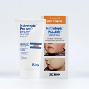 Nutratopic Crema Facial Pro - AMP 50 ml - Pieles Atópicas, Ayuda a Combatir Dermatitis Atópica Infantil