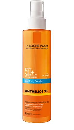 Anthelios XL 50+ Aceite Nutritivo Invisible 200 Ml - Muy Alta Protección, Rostro y Cuerpo