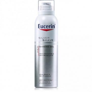 Eucerin Men Gel de Afeitar 150 ml - Antibacteriano, Irritaciones