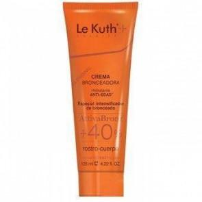 Le Kuth Crema Bronceadora Attiva Bronz +40% 125 ml - Antiedad, Hidratante