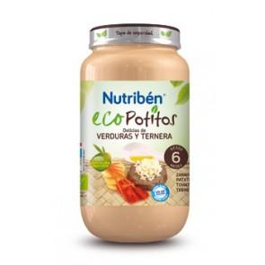 Comprar Nutriben Eco Delicias Verduras Ternera 250 G