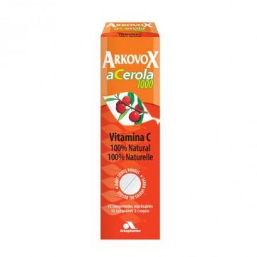 Arkovox Acerola 1000 mg 15 comps. masticables - sistema inmunitario, antienvejecimiento