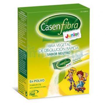 Casenfibra Junior 14 Stick Bebiles 2,5 Gramos - Estreñimiento Infantil, Laxante Natural