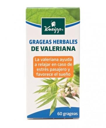 Kneipp Valeriana Grageas Herbales 60 Uds - Relajante, Favorece el Sueño