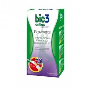 Bie3 Antiox Solution Resveratrol dosis solubles - antienvejecimient y antioxidante