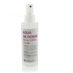 Agua de Rosas SIN ALCOHOL Spray 150 ml Botanicapharma - Calma, Limpia y Tonifica la piel, Antiséptica y Cicatrizante.
